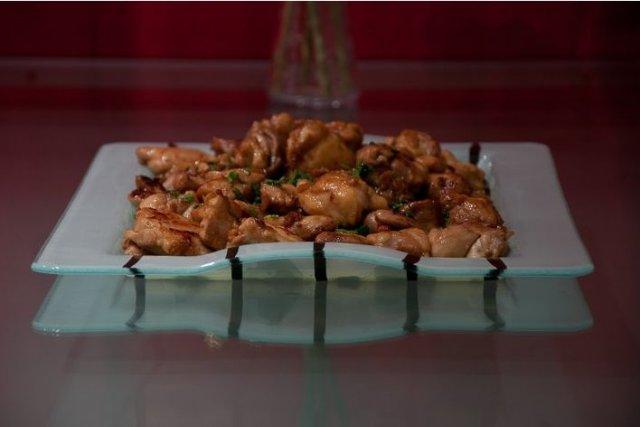 Receta de pollo en salsa teriyaki