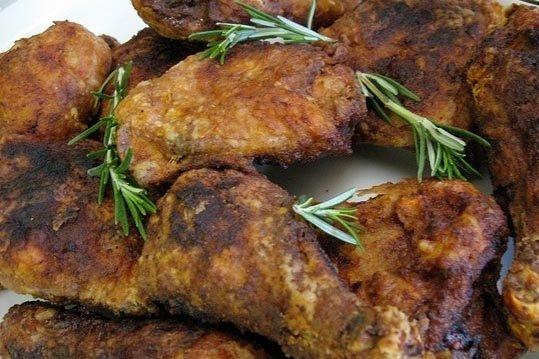 Receta de pollo frito