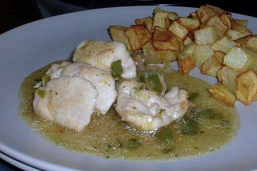 Receta de pollo guisado fácil