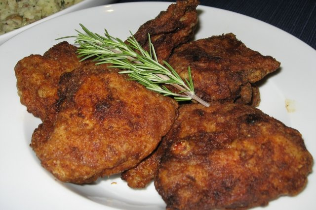 Receta de pollo kentucky