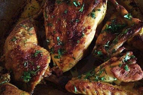 Receta de pollo picante