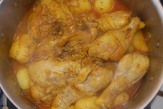 Receta de pollo salseado