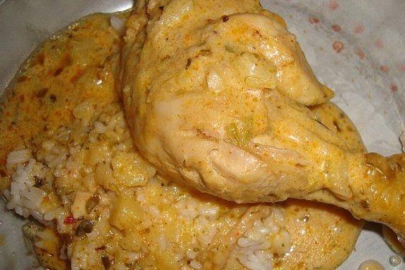 Receta de pollo tandori