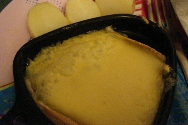 Receta de queso raclette