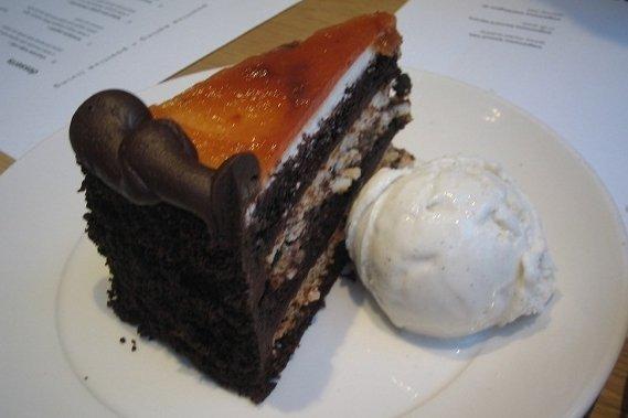 Receta de relleno de chocolate para tartas