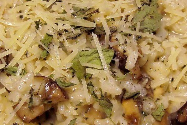 Receta de risotto con queso