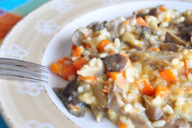 Receta de risotto de setas