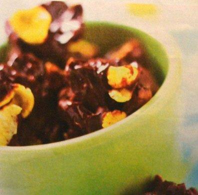Receta de rocas de chocolate