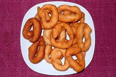 Receta de roscas fritas
