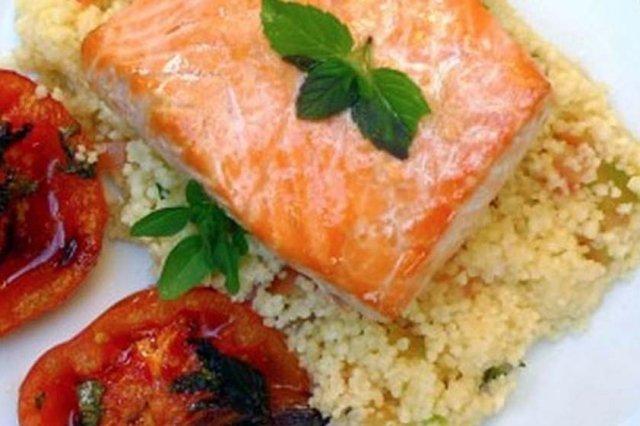Receta de salmón rostizado