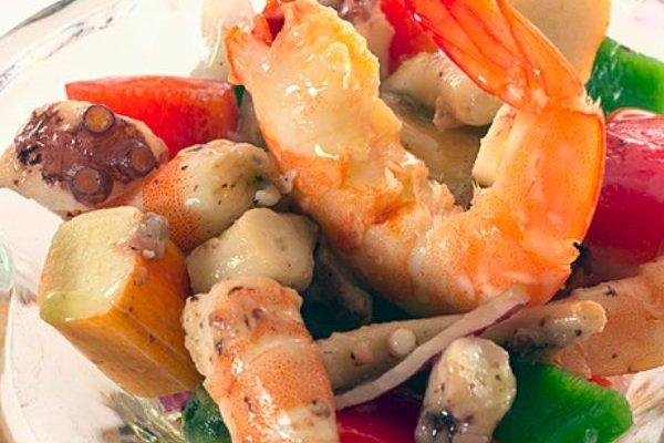 Receta de salpicón de mariscos