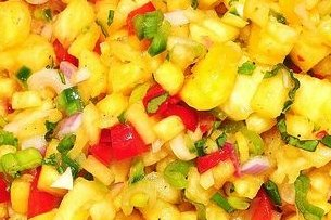 Receta de salsa con piña