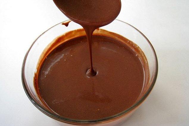 Receta de salsa de chocolate