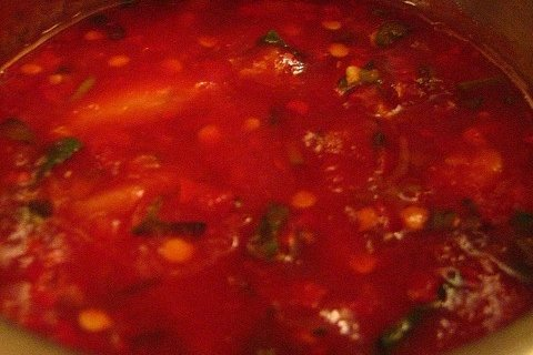 Receta de salsa para locro