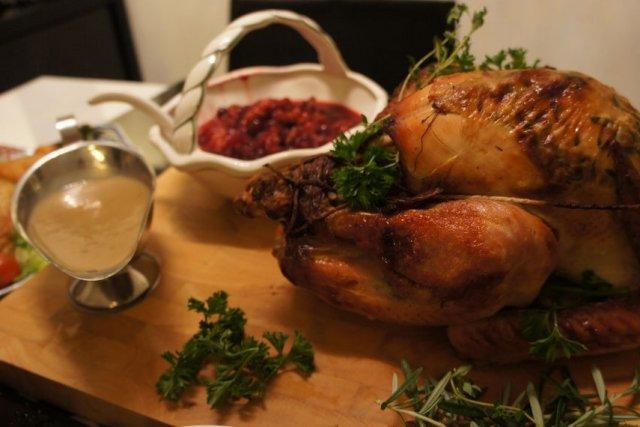 Receta de salsa para pavo