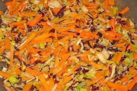 Receta de salteado de verduras con pollo