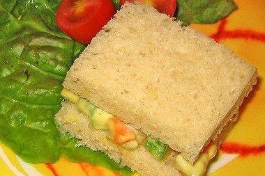 Receta De Sandwich Vegetal Thermomix