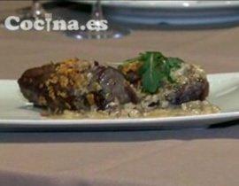 Receta de solomillo ibérico con salsa de setas