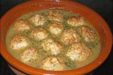 Receta de sopa de albóndigas