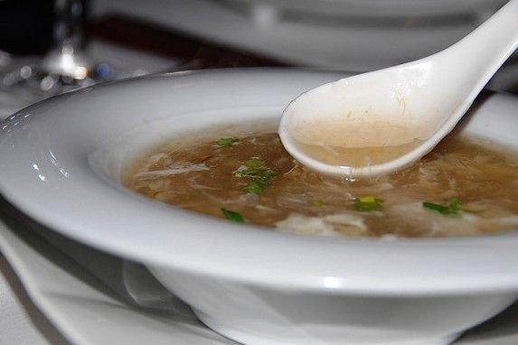 Receta de sopa de aleta de tiburón