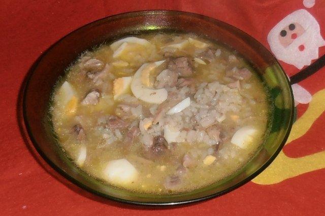 Receta de sopa de boda