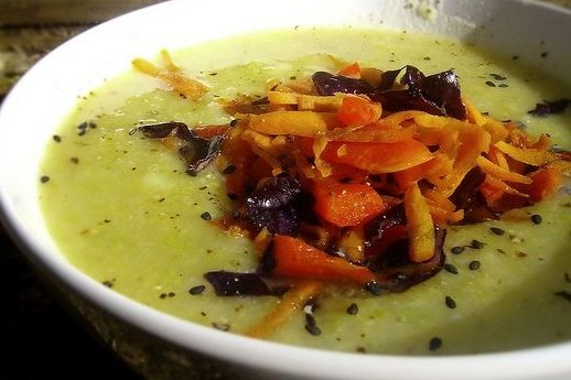 Receta de sopa de brócoli