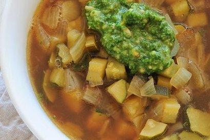 Receta de sopa de calabacín
