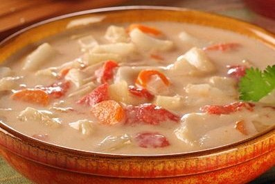 Receta de sopa de caracol hondureña