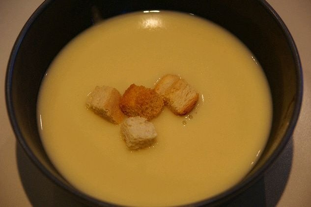 Receta de sopa de maíz