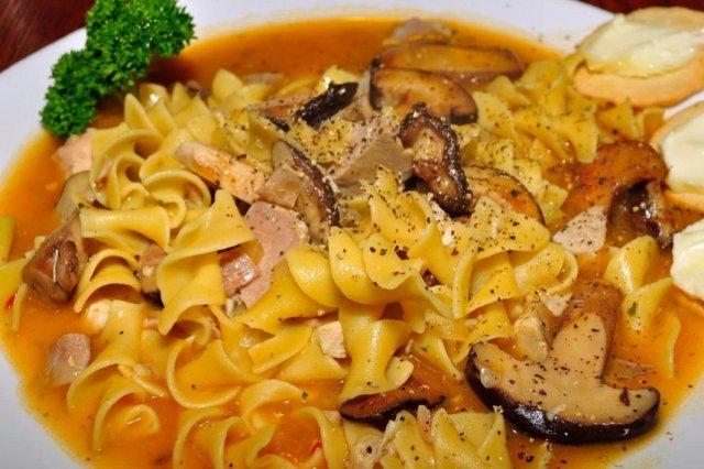 Receta de sopa de pasta