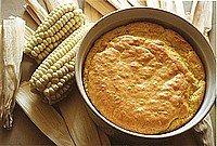 Receta de souffle de maíz y queso