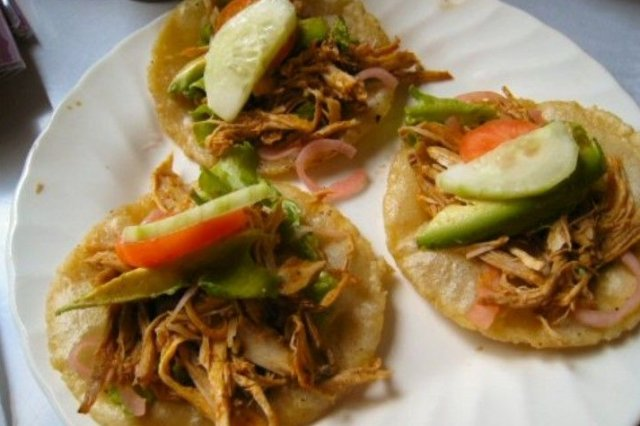Receta De Tacos De Pollo Con Aguacate