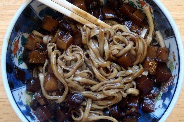 Receta de tallarines chinos