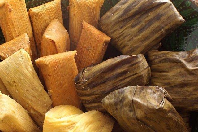 Receta de tamales de acelga
