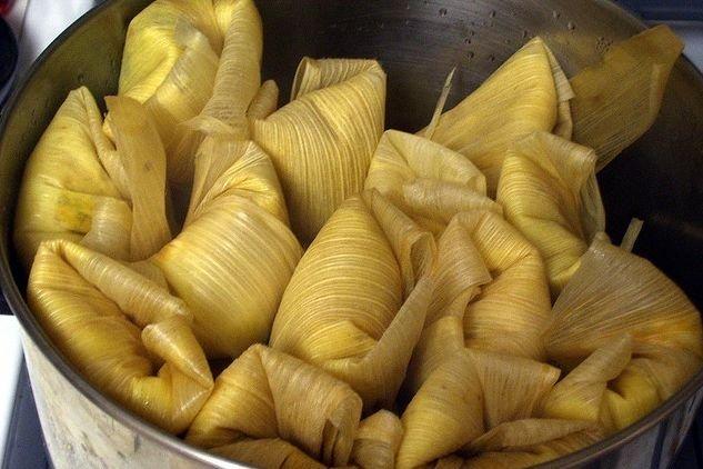 Receta de tamales dulces