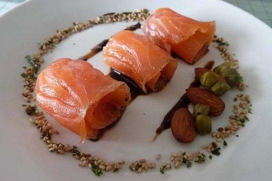 Receta de tapas con salmón