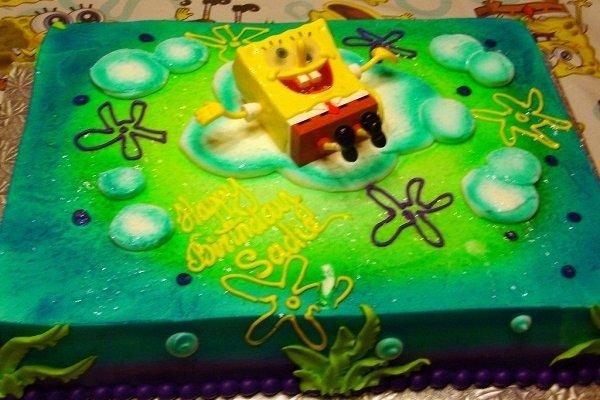 Receta de tarta bob esponja