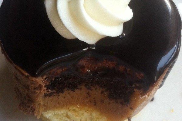 Receta de tarta con flan