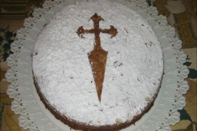 Receta de tarta de almendra