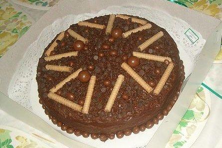 Receta de tarta de chocolate sin horno