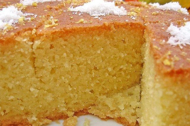 Receta de tarta de coco