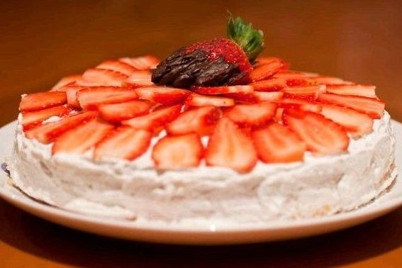 Receta de tarta de fresas