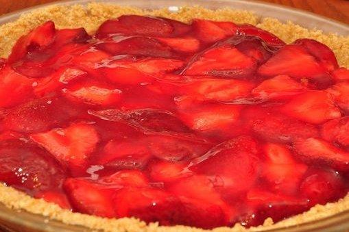 Receta de tarta de mermelada de fresa