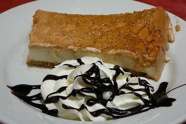 Receta de tarta de nata
