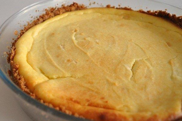 Receta de tarta de queso philadelphia al horno