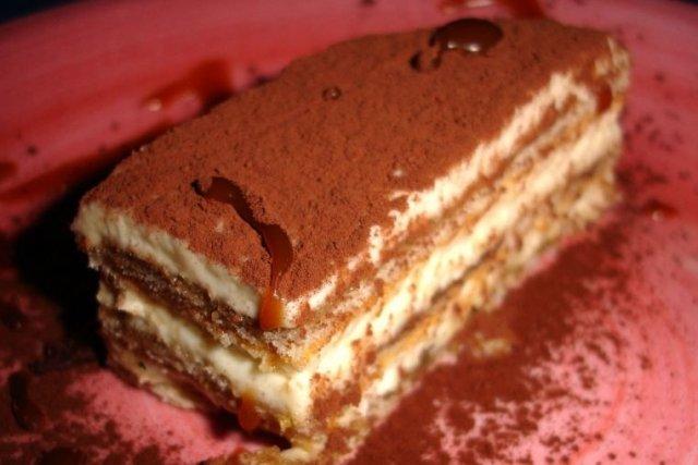 Receta de tarta tiramisú