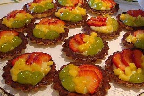 Receta de tartaletas de fruta