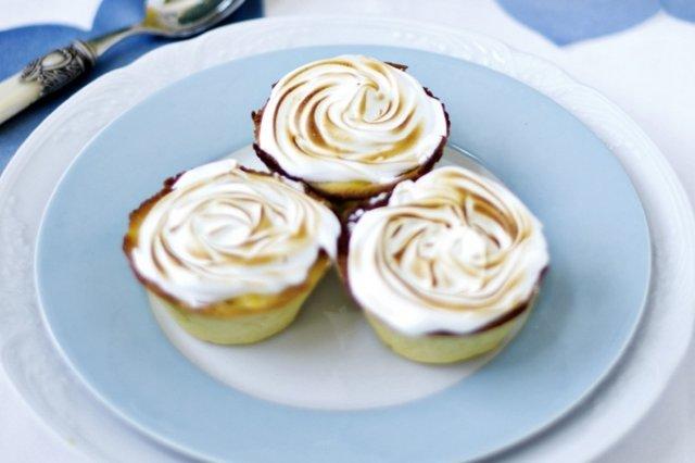 Receta de tartaletas de merengue y limón