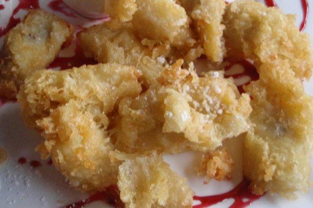 Receta de tempura de plátano
