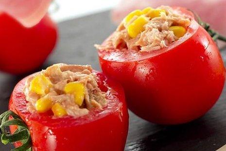 Receta de tomates rellenos de atún